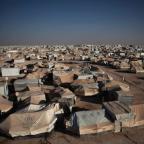 A Day in the Syrian Zaatari Refugee Camp